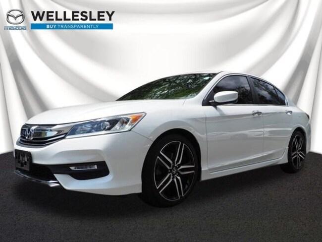 Used 2016 Honda Accord Sport Sedan Wellesley