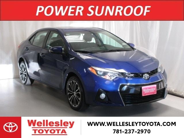Featured 2016 Toyota Corolla S Plus Sedan for sale near you in Wellesley, MA