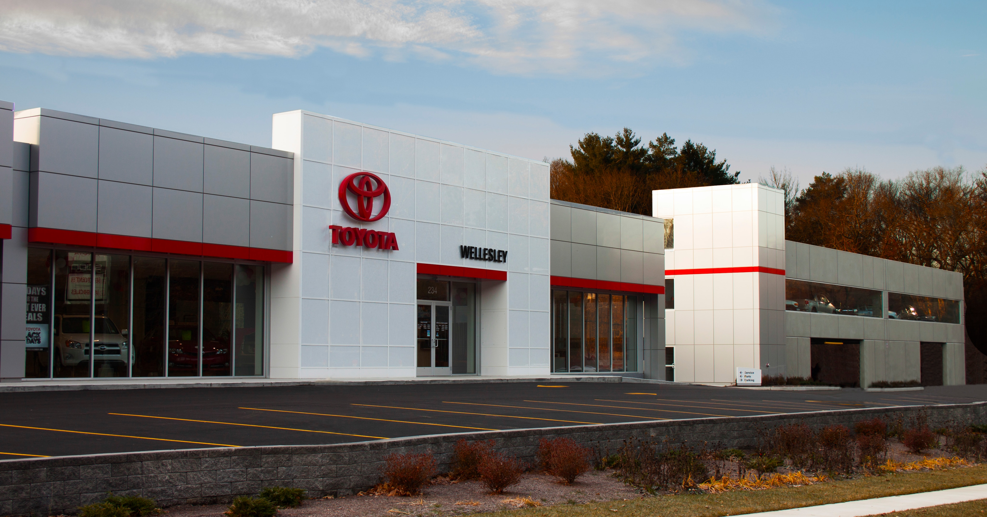 Wellesley toyota the first leed certified dealership in boston what makes wellesley toyota leed certified becoming the first leed certified automotive dealership in new england xflitez Choice Image