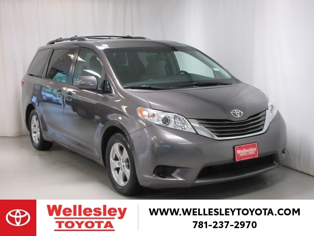 Featured 2016 Toyota Sienna LE 8-Passenger Van for sale near you in Wellesley, MA