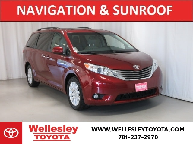 Featured 2016 Toyota Sienna XLE AWD Van for sale near you in Wellesley, MA