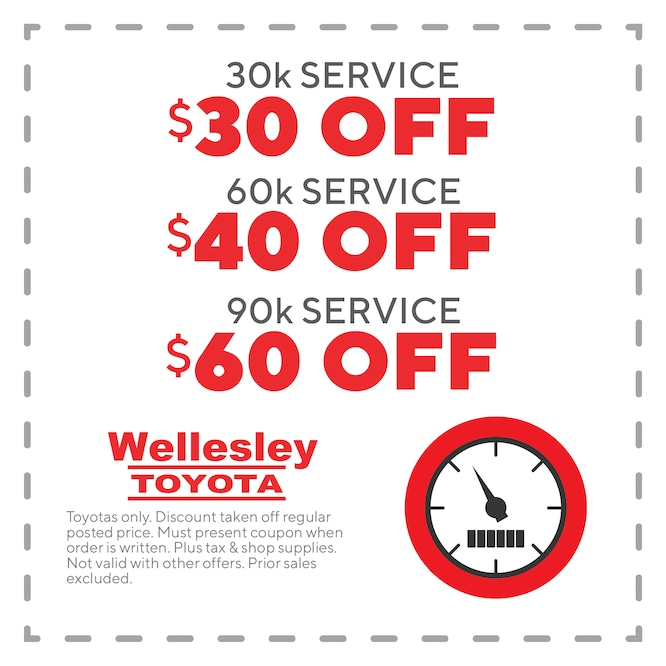 Toyota Oil Change Coupons >> Ma Toyota Service Coupons Wellesley Toyota Service