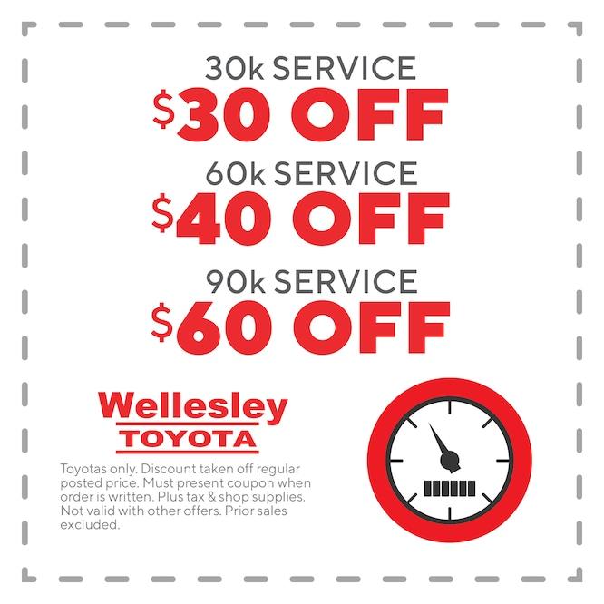 Toyota Service Coupons >> Ma Toyota Service Coupons Wellesley Toyota Service