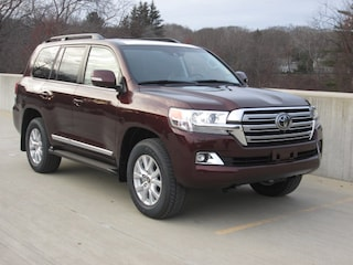 New 2019 Toyota Land Cruiser V8 SUV for sale near you in Wellesley, MA