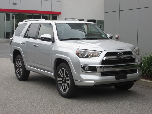 Featured new Toyota cars, trucks, and SUVs 2018 Toyota 4Runner Limited SUV for sale near you in Wellesley, MA