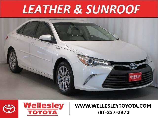 Featured used cars, trucks, and SUVs 2017 Toyota Camry Hybrid Hybrid XLE Sedan for sale near you in Wellesley, MA