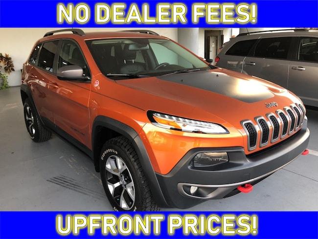 2016 Jeep Cherokee Trailhawk SUV for sale in Avon Park near Sebring