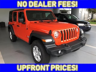 New 2018 Jeep Wrangler UNLIMITED SPORT S 4X4 Sport Utility Near Sebring