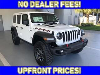 new 2019 Jeep Wrangler UNLIMITED RUBICON 4X4 Sport Utility for sale avon park fl
