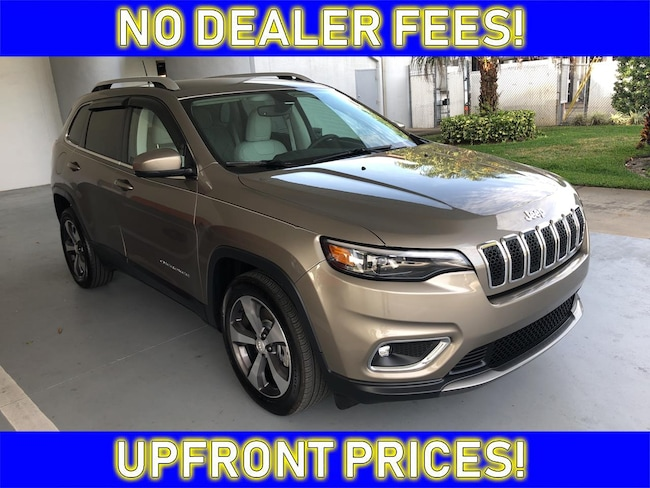2019 Jeep Cherokee Limited SUV for sale in Avon Park near Sebring