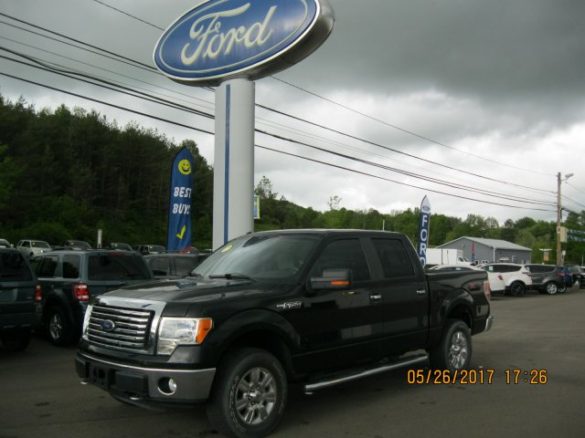 2010 Ford F-150 Crew Cab Short Bed Truck