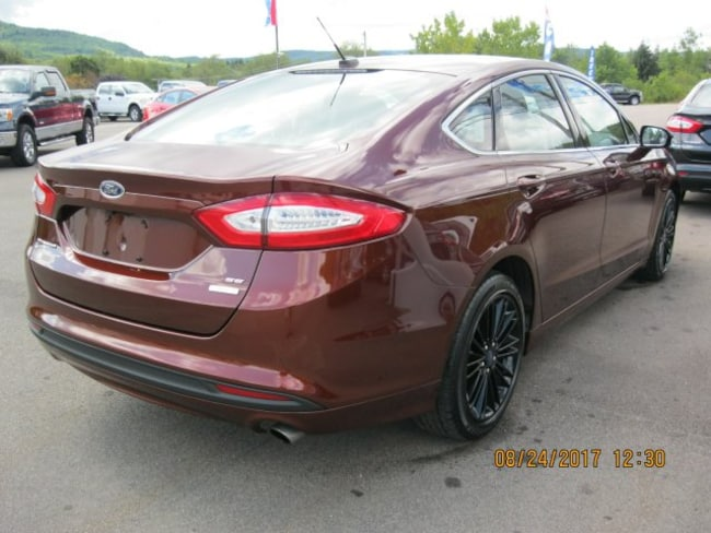 Used 2015 Ford Fusion For Sale At Wellsville Ford Vin