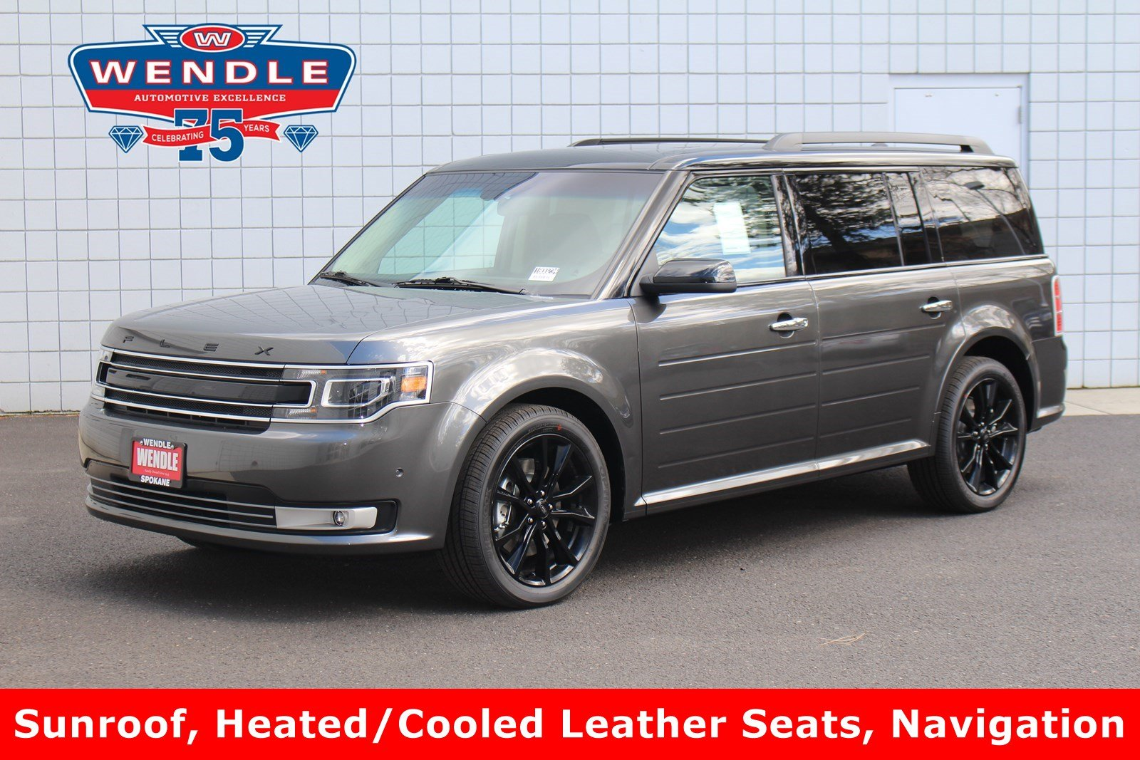 2018 Ford Flex Limited w/EcoBoost SUV