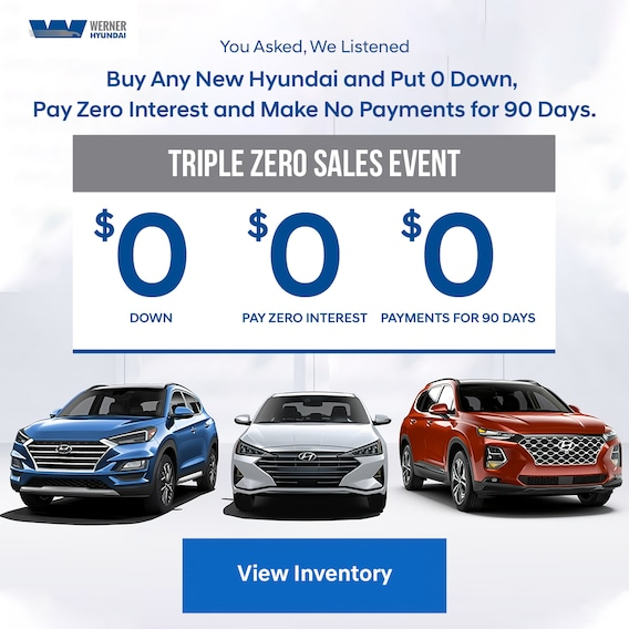 Werner Hyundai Dealer Tallahassee | New Hyundai for Sale