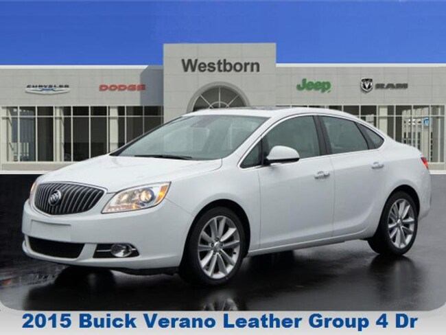 2015 Buick Verano Leather Group Sedan