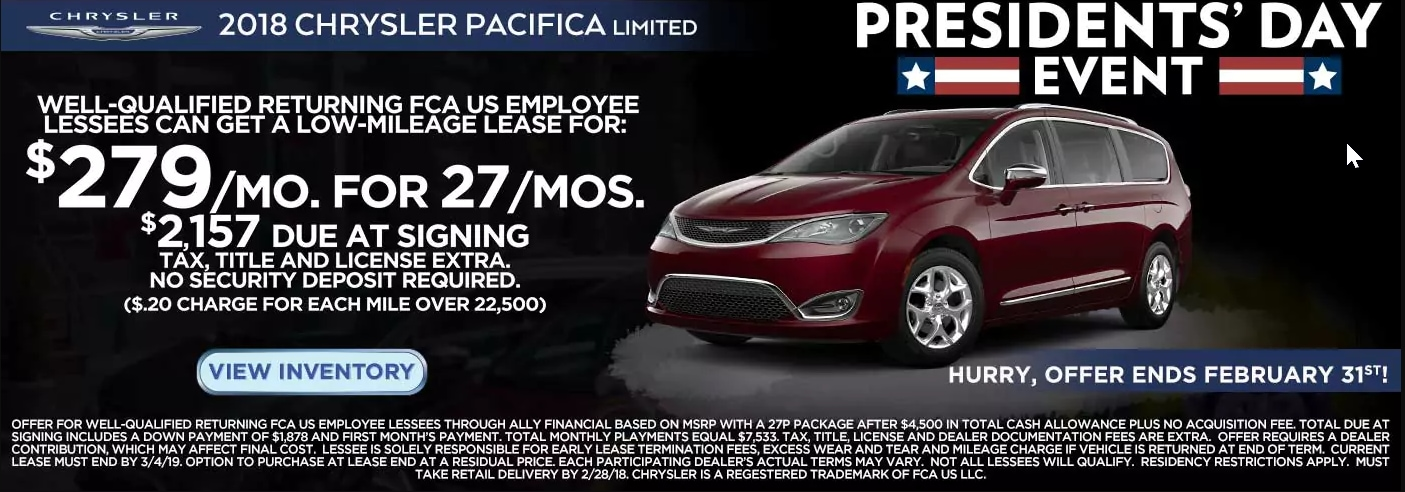 Specials On New Cars Jeep Dealership Near Lincoln Park MI - Chrysler lease specials michigan