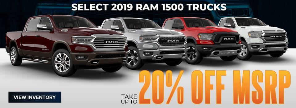 Select 2019 Ram 1500 Trucks