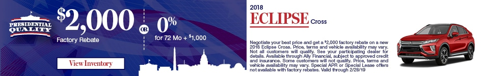 APR 2018 Eclipse Cross 2/5