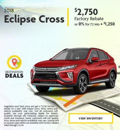 New 2018 Eclipse Cross 6/4/2019