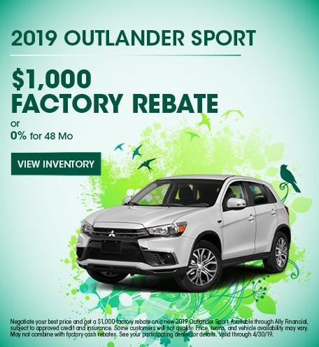 2019 Outlander Sport