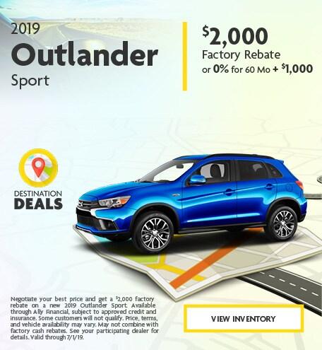 New 2019 Outlander Sport 6/4/2019