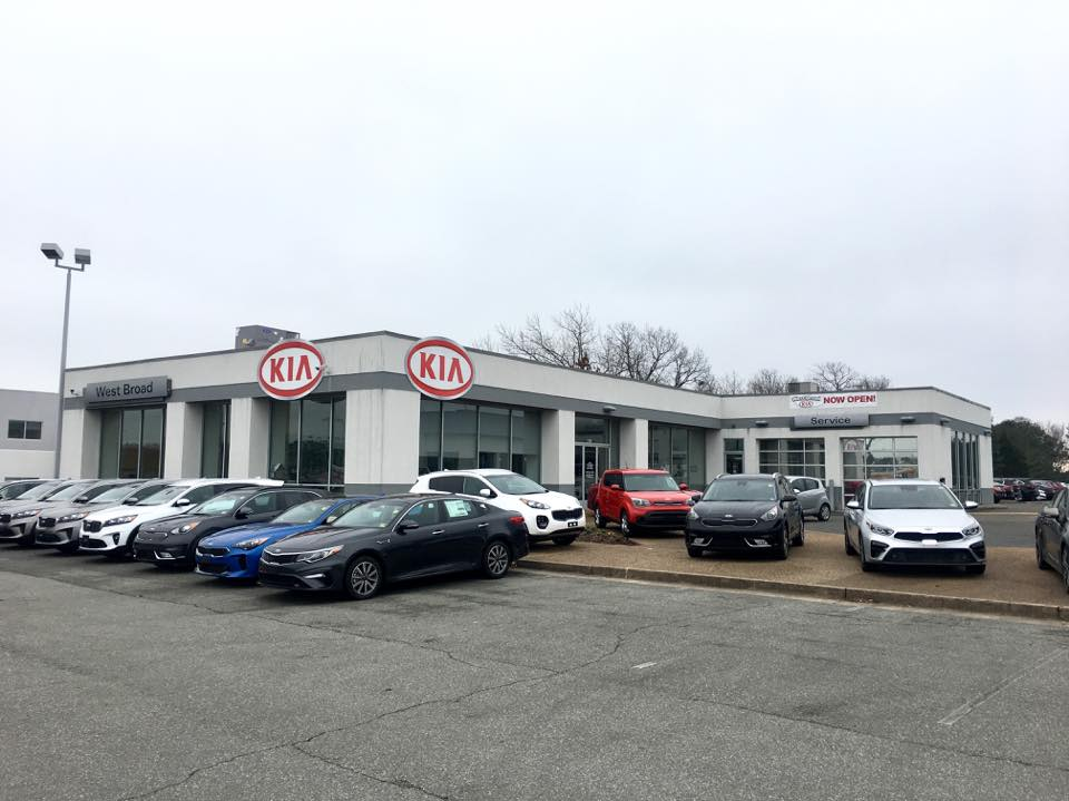 West Broad Kia is a Kia Dealership in Richmond, VA | West Broad Kia dealer lot