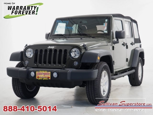 2015 Jeep Wrangler Unlimited Sport 4x4 Sport  SUV