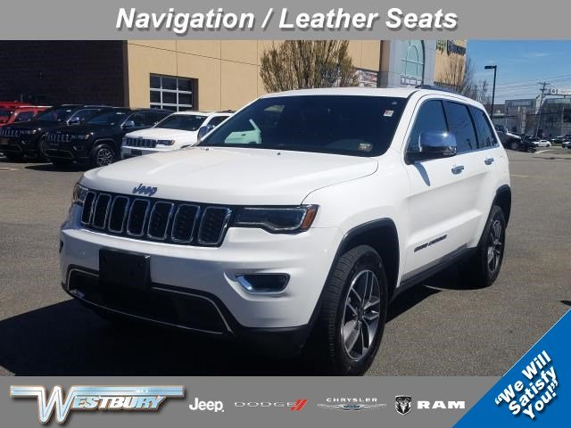 Used 2019 Jeep Grand Cherokee Limited Limited 4x4 for sale near Huntington