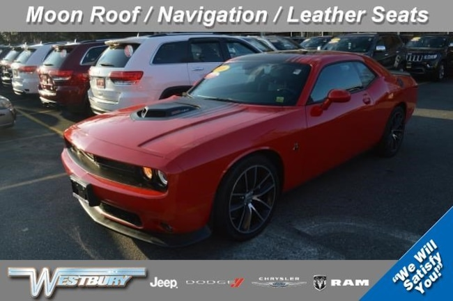 Certified Pre-Owned 2016 Dodge Challenger 392 Hemi Scat Pack Shaker Coupe Long Island