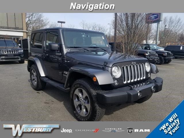 2018 Jeep Wrangler JK Sahara Sahara 4x4 for sale near Huntington