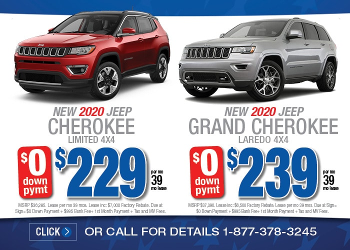 Jeep Cherokee Limited Jeep Grand Cherokee Limited Feb 2020