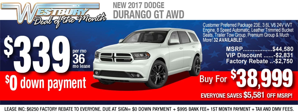 New Dodge Car Lease Offers In Long Island Auto Financing