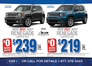 2021 Jeep Renegade April Special
