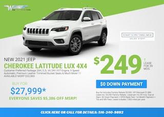 Jeep Cherokee Latitude Lux Deal - January 2021