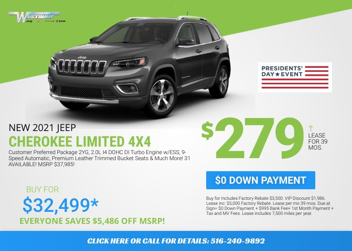 Jeep Cherokee Limited - February Deal