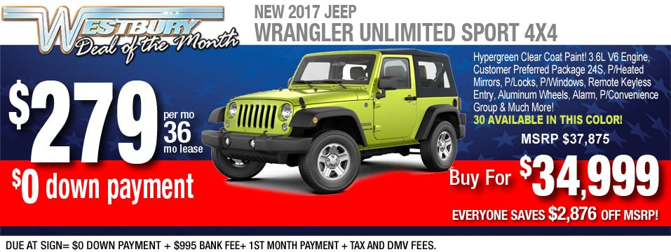 long island jeep leases auto financing. Black Bedroom Furniture Sets. Home Design Ideas