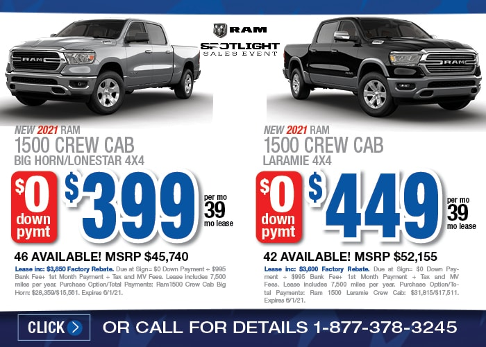 Ram 1500 Special - May 2021