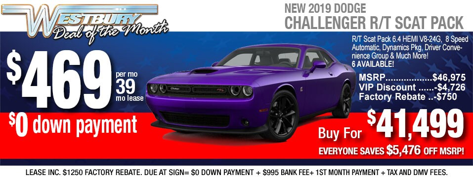 New 2019 Dodge Challenger Inventory In Long Island Ny