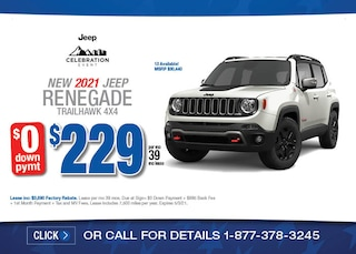 2021 Jeep Renegade Trailhawk April Special