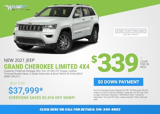 Jeep Grand Cherokee Limited Deal - January 2021