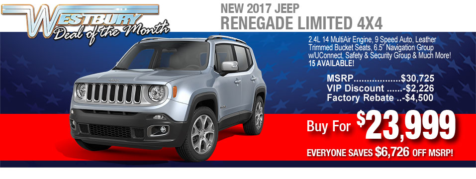 Jeep Renegade Inventory Jeep Renegade For Sale In Jericho Long - Chrysler dealer long island ny