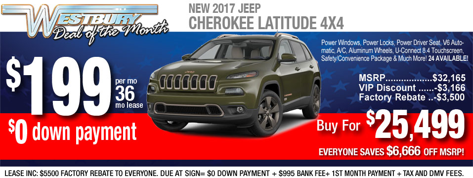 Jeep Lease Deals And Sale At Long Island, NY Jeep Dealer