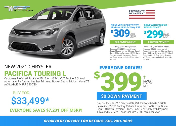 Chrysler Pacifica Deal - February 2021