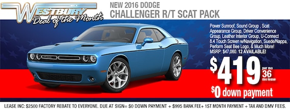 Car Lease Deals Near Me >> New Dodge Car Lease Offers In Long Island Auto Financing