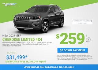Jeep Cherokee Limited Deal - January 2021