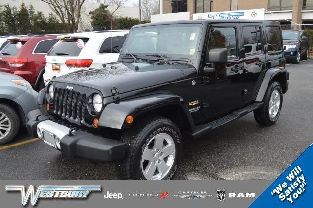 2012 Jeep Wrangler Unlimited 4WD Sahara