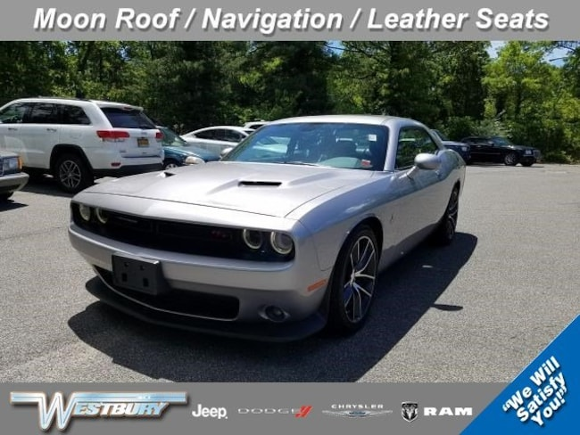 Certified Pre-Owned 2016 Dodge Challenger R/T Scat Pack Coupe on Long Island, NY