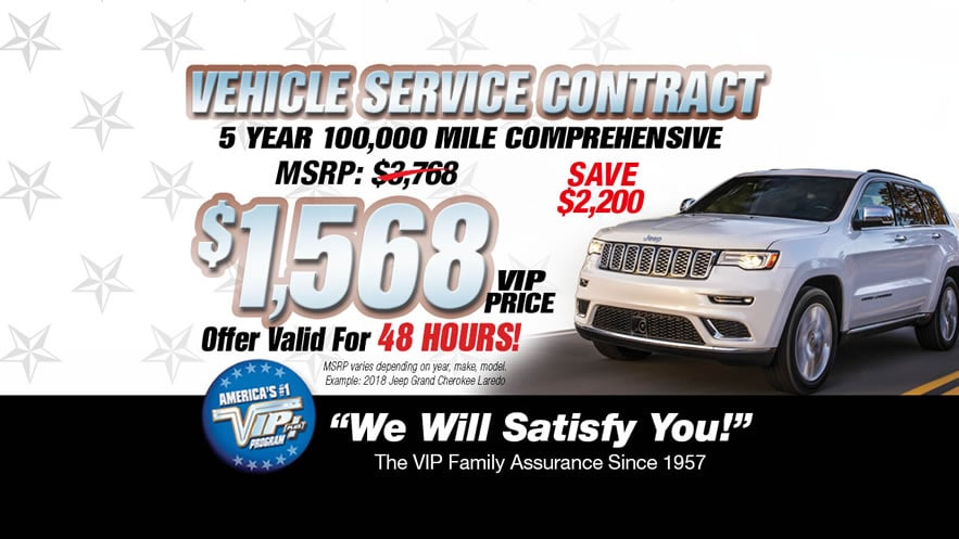 Vip Vehicle Service Contract Long Island Ny