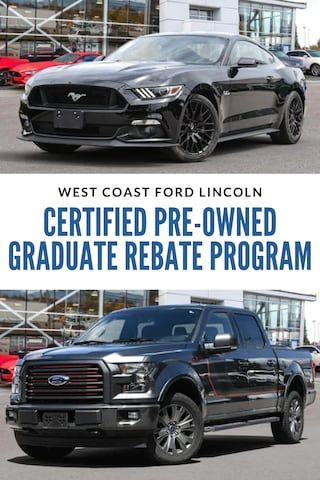 Ford Certified Pre-Owned Graduate Rebate Program