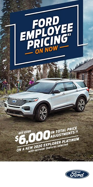 New 2020 Explorer Platinum
